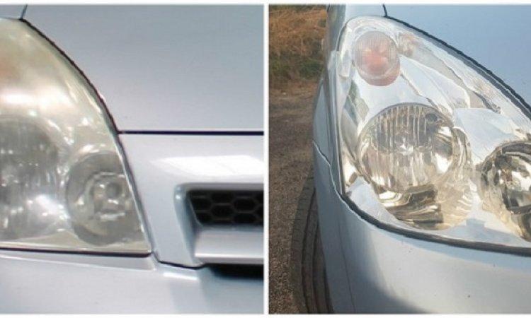Rénovation de phare de voiture Chabeuil